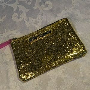 $$ Betsy Johnson Small Makeup/ Money Pouch